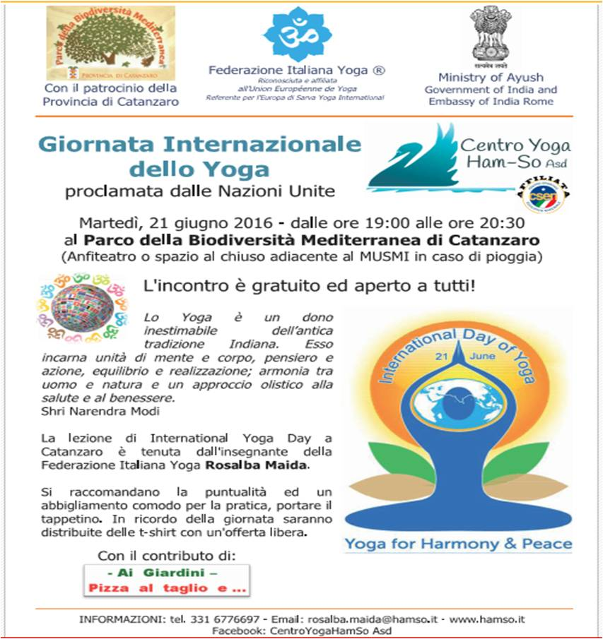 International Yoga Day 2016